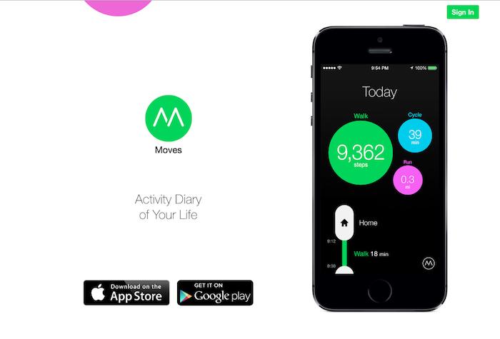 Главная страница сайта moves-app.com