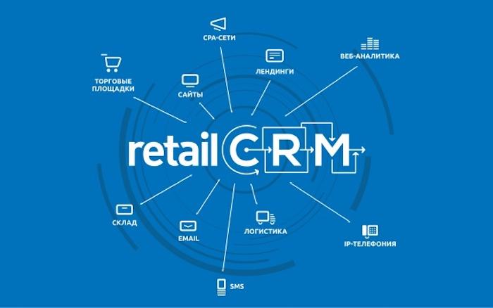 Информация о работе CRM системы для интернет-магазина