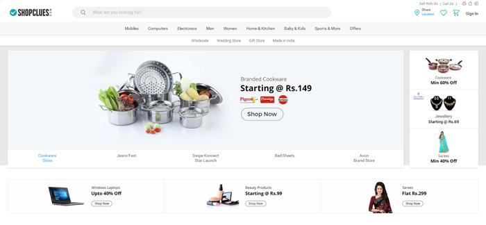 Shopclues — крупный маркетплейс на CMS для интернет-магазина CS-Cart