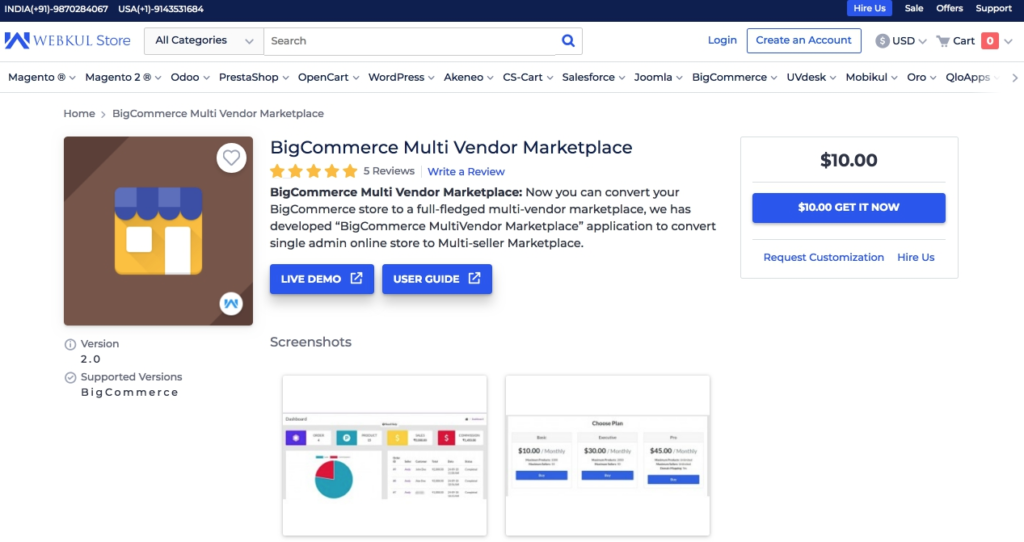 bigcommerce multivendor