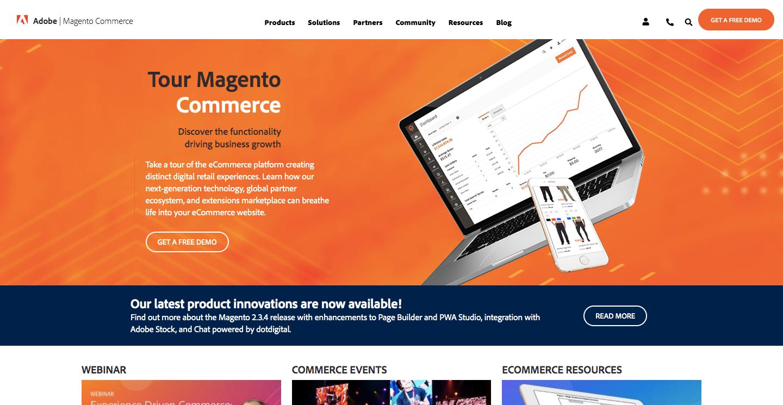 платформа для интернет-магазина magento