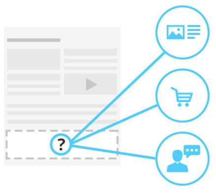 Благодаря комбинации визуального редактора контента и нашего уникального редактора макетов, вы сможете на своих страницах комбинировать статический и динамический контент.